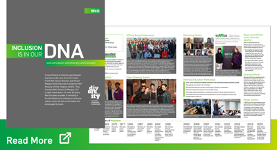 Weil - Inclusion is in our DNA, information booklet