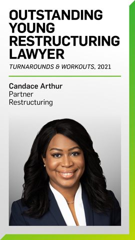 Candace Arthur Named 2021 Outstanding Young Restructuring Lawyer