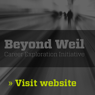 Beyond Weil Career Newsletter Image