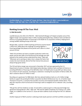 Banking Practice Group of the Year PDF