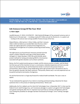 Life Sciences Group of the Year PDF