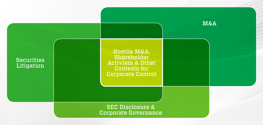 Hostile M&A diagram