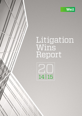Litigation Wins Report