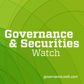 Governance & Securities Watch