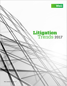 Litigation Trends 2017