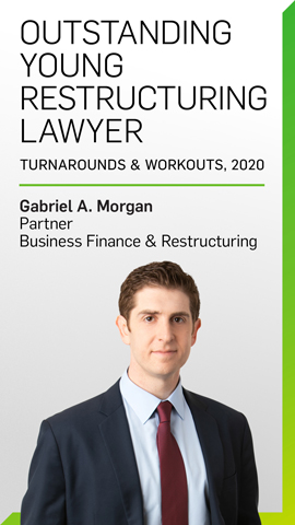 Gabriel A. Morgan, Outstanding Young Restructuring Lawyer