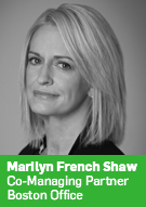 Marilyn French Shaw, Co-Managing Partner, Boston Office